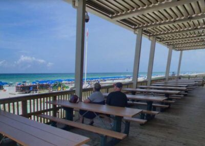 Pineapple Willys pier bar patio 2019