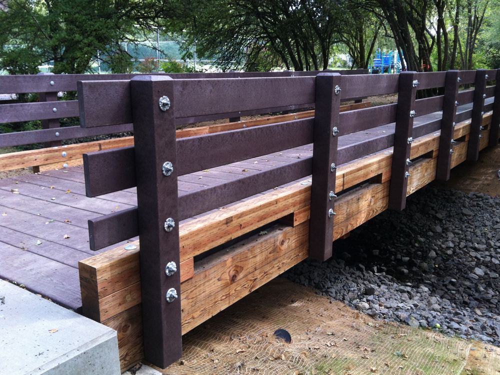 Plastic Lumber Application Gallery Marine Bridges