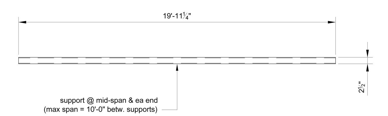 Ameriboard Full Length Side View